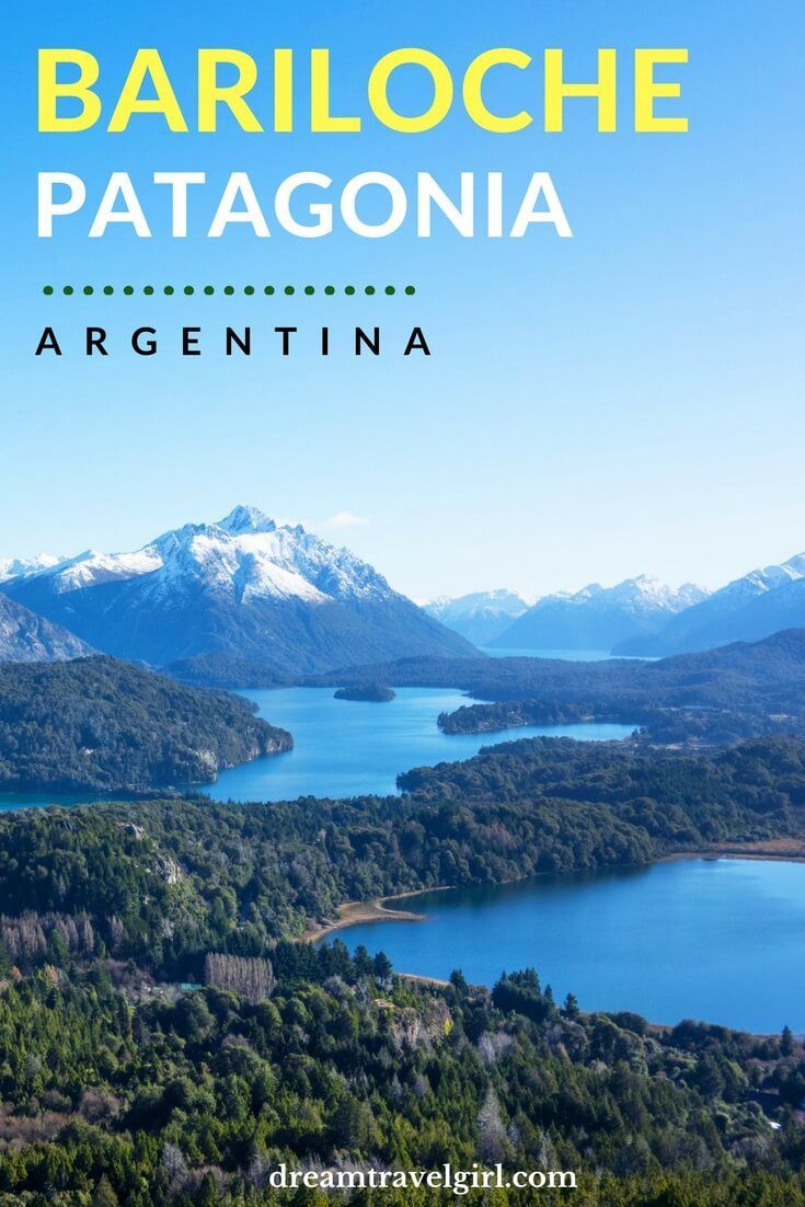 Bariloche Argentinian Patagonia Lakes Satellites And Ghosts