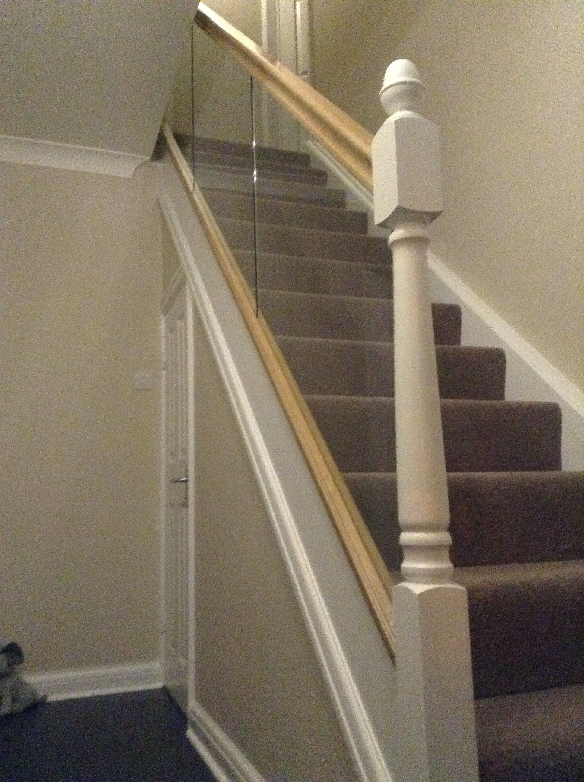 Best Rebate Fitted Toughened Glass Panel Staircase Panes Diy 400 x 300