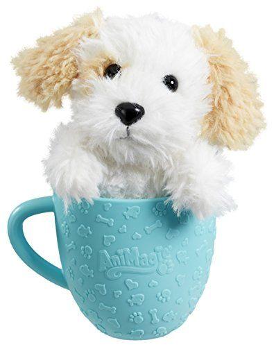 Animagic Tea Cup Pets White Puppy Animagic https//www