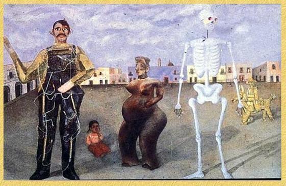 Four Inhabitants of Mexico
