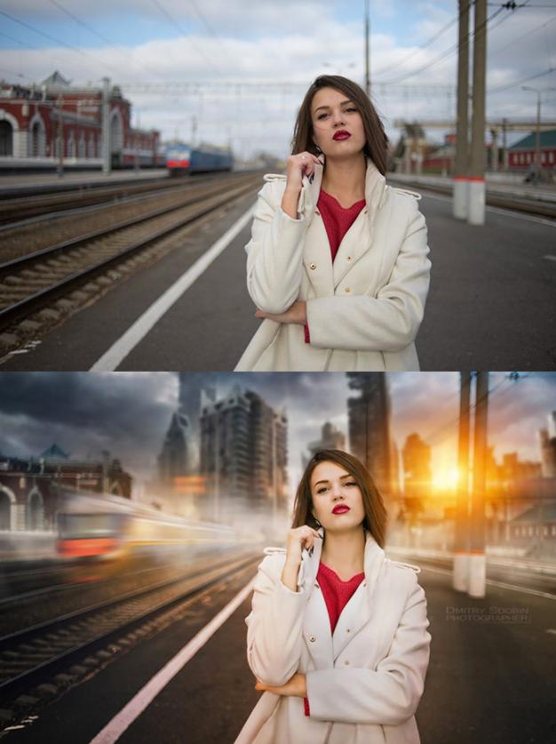 Быстрый эффект для фотографий