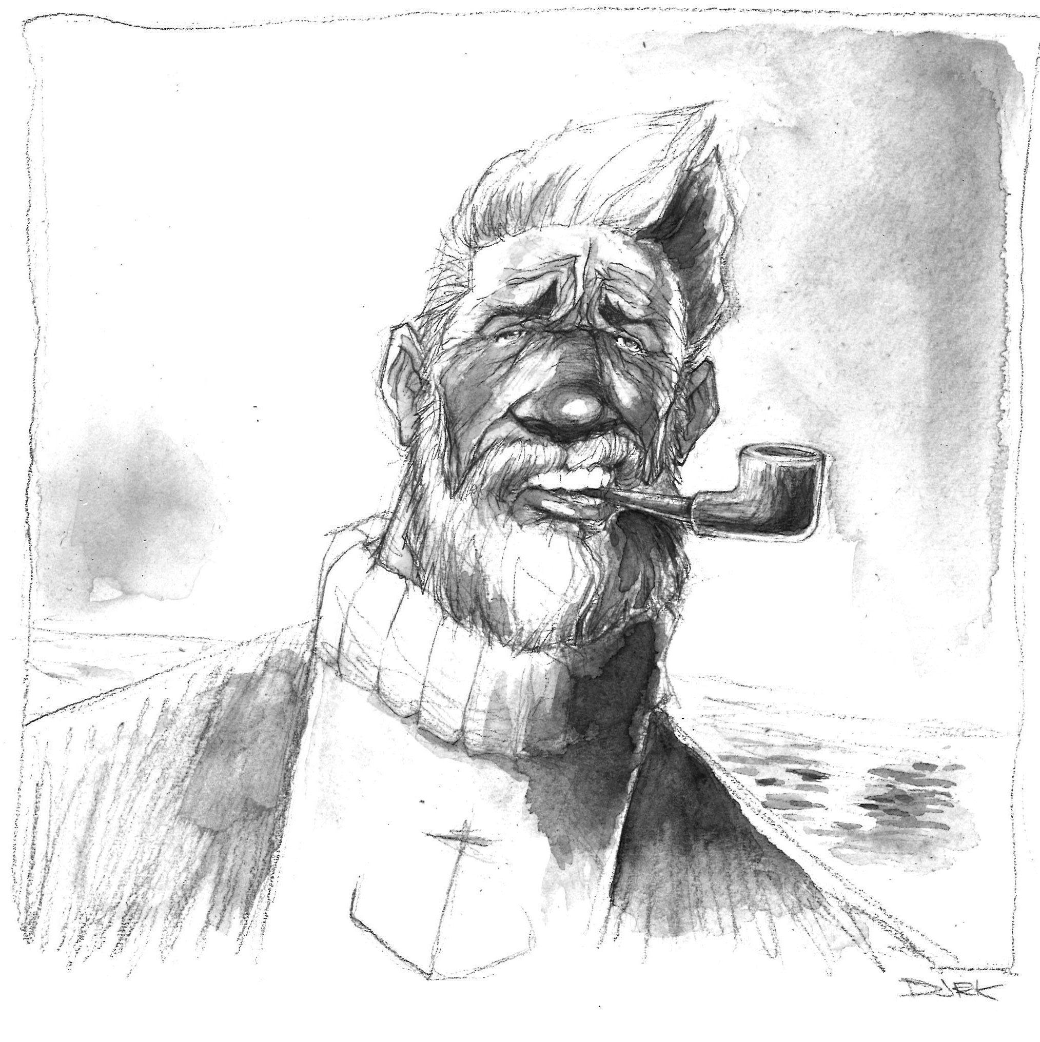 Capitaine Haddock ? Jérémy Courcelles