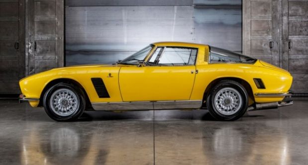 1970 iso grifo body by giorgetto giugiaro bertone mechanics by bizzarrini