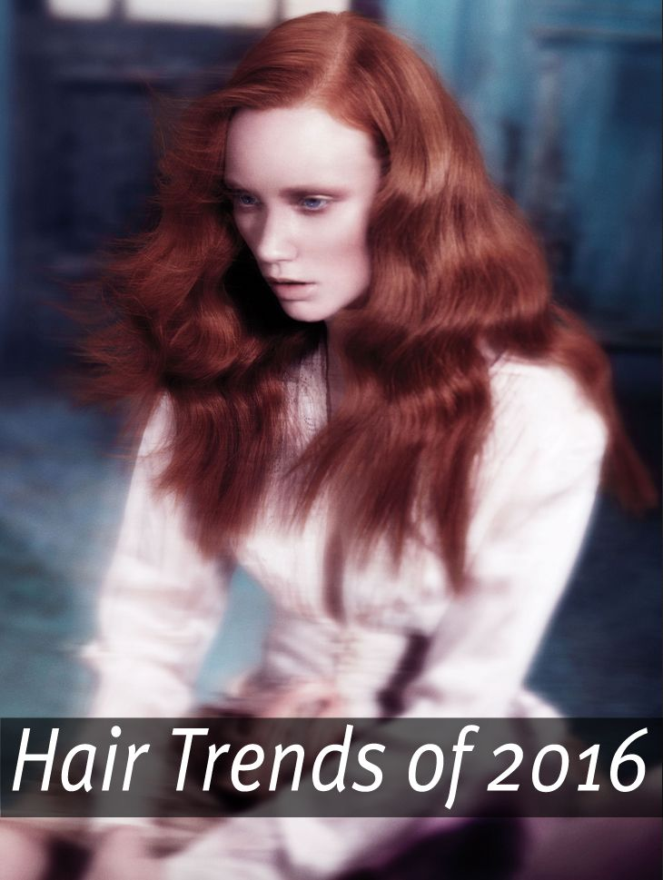 Check out the top hair trends that you'll be seeing in 2016.