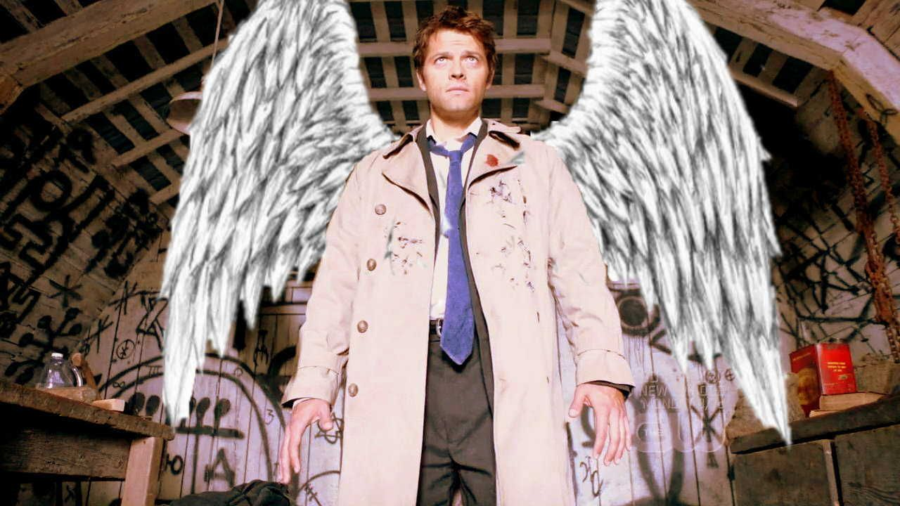 "misha collins as castiell in ""supernatural"""