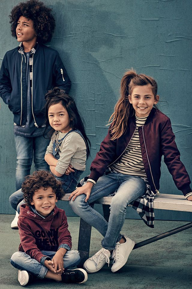 Back to school   H&M Kids   Kids fashion girl, Girl outfits