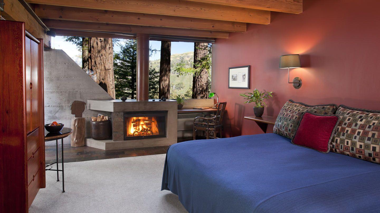 Monterey Hotel Post Ranch Inn Butterfly Rooms Romantic