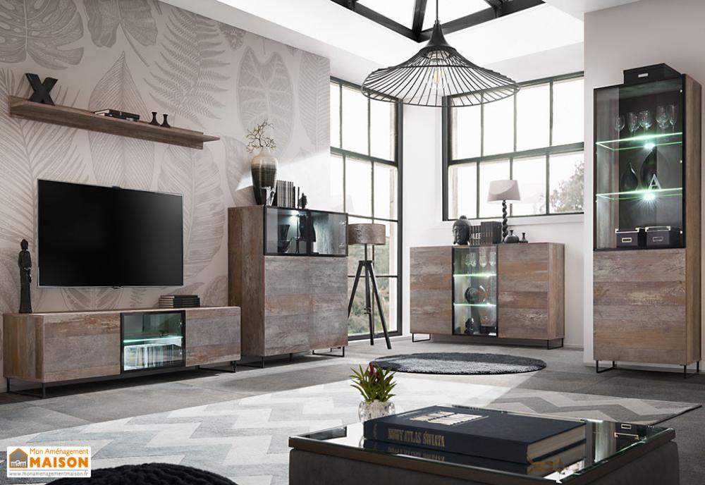 meubles de salon en bois meuble salon