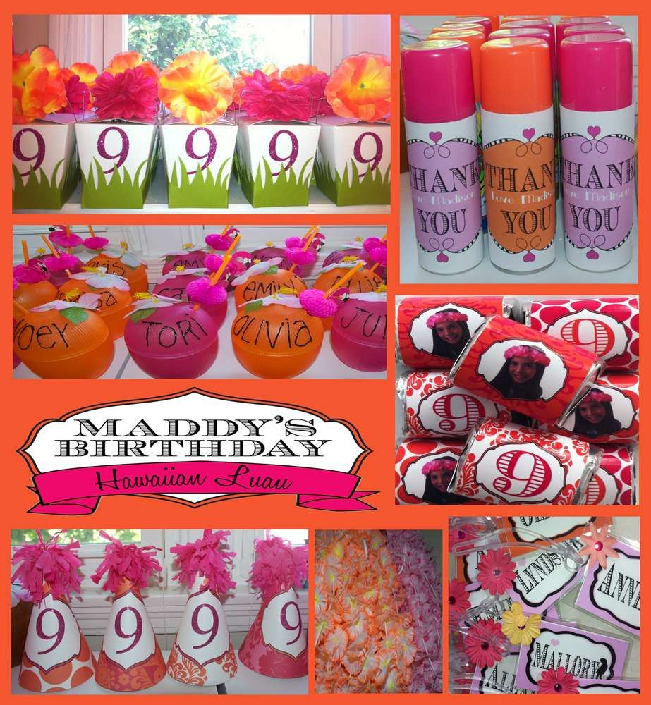 hawaiian party birthday party ideas | party | party, birthday