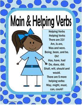 Worksheets Main And Helping Verbs Worksheet main and helping verbs center activity activities student activity