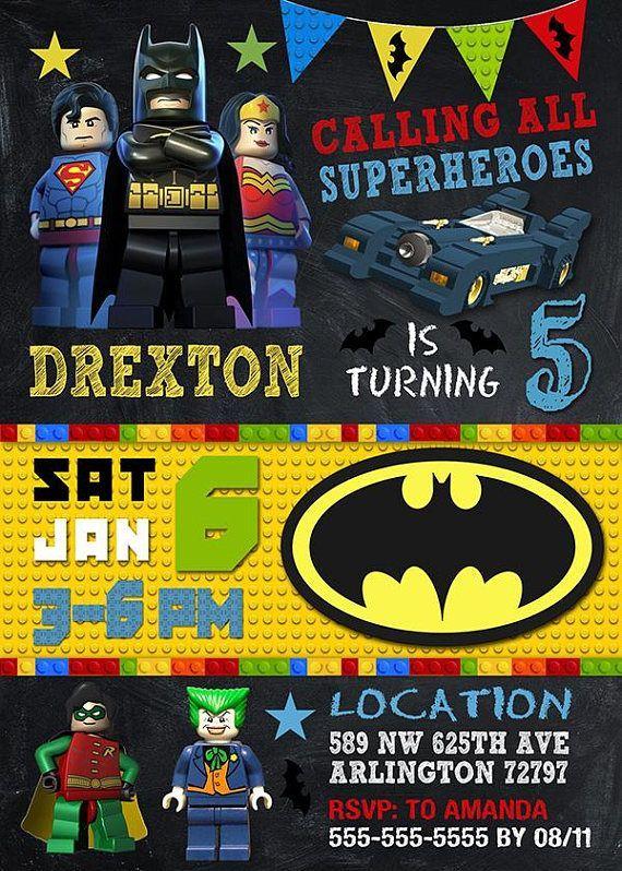 Batman Lego Archives   Lego batman invitations, Batman ...