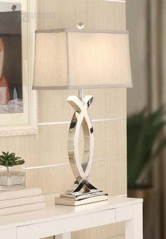 Silver Lamp On Pinterest Oriental Furniture Gl Table Lamps