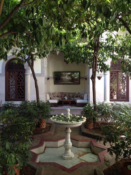 More From Morocco   Small courtyard gardens, Exterior ...