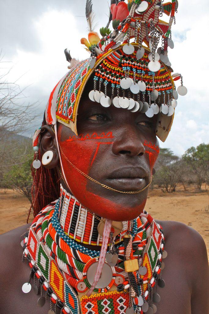 Samburu Warrior . Kenya