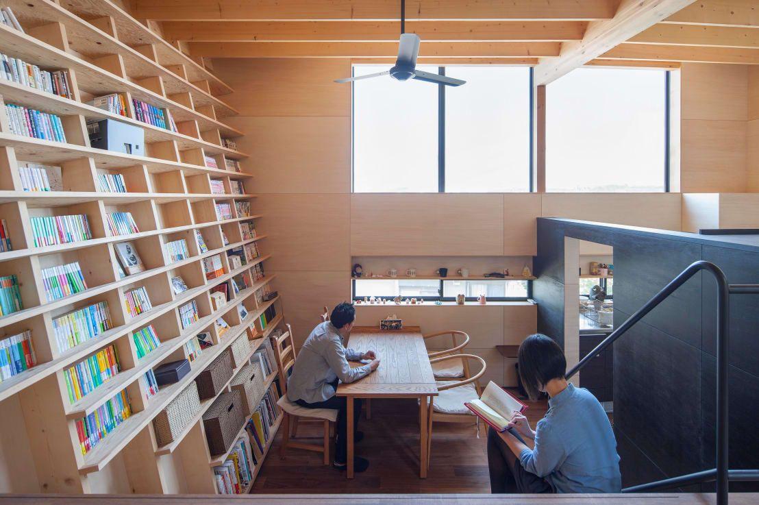 本の家に住みたい 生活の中心にある本棚5選 和風の家の設計