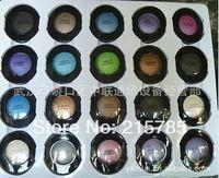 solo color ceja moldeo ceja profundidad 3.5g combinado de sudor contra impermeable Pearlized desnuda del maquillaje 24pcs / lot