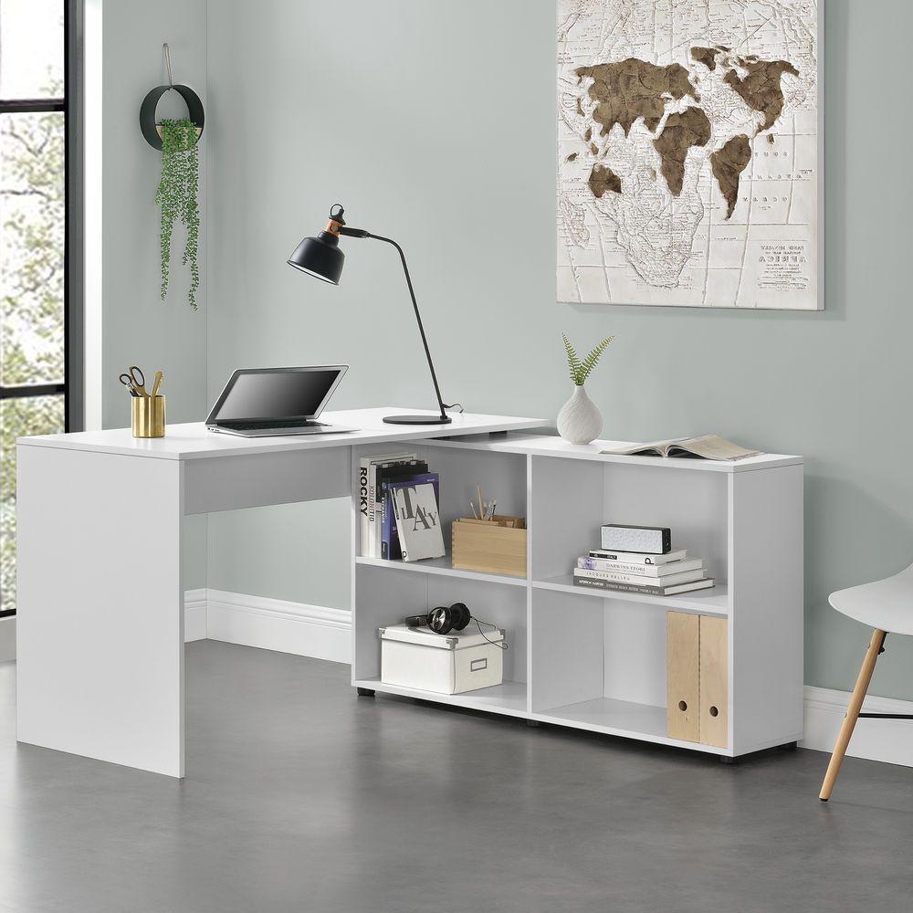en.casa Escritorio Mesa Oficina de esquina winkelkombination ...