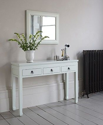Mandara White Wooden Console Table Wooden Console Wooden Console Table White Console Table