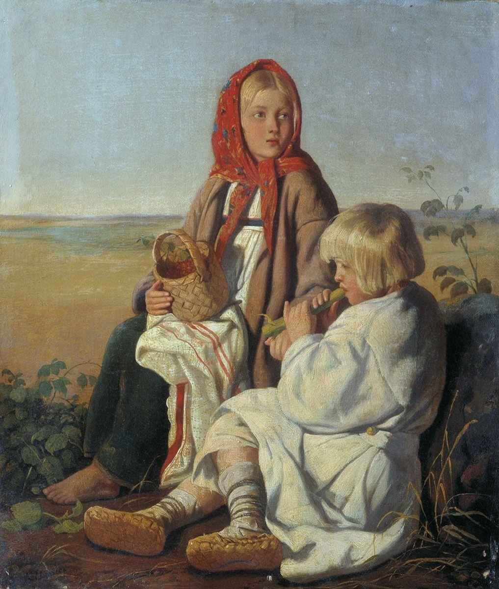 картины русских художников о детях картинки здорово, что