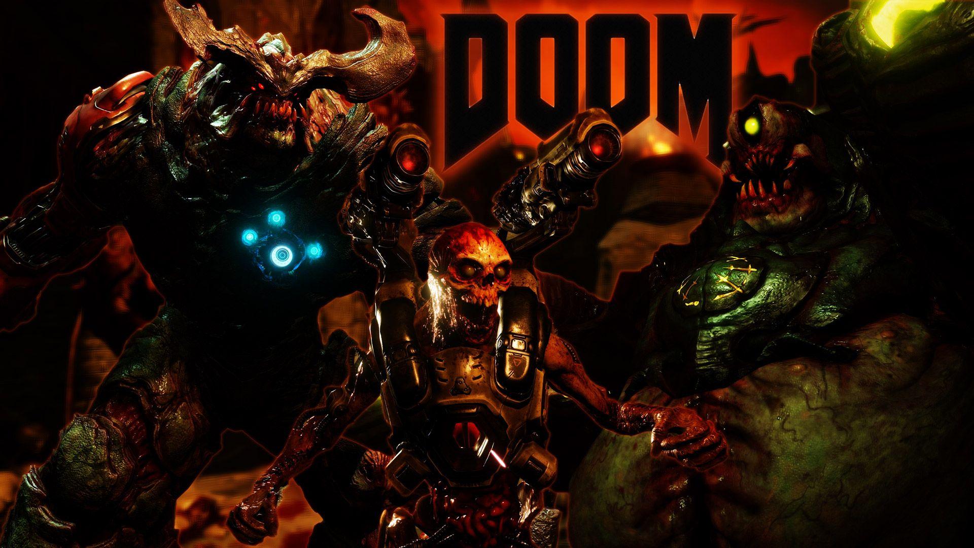 free doom (2016) wallpaper in 1920x1080 | doom wallpaper | pinterest