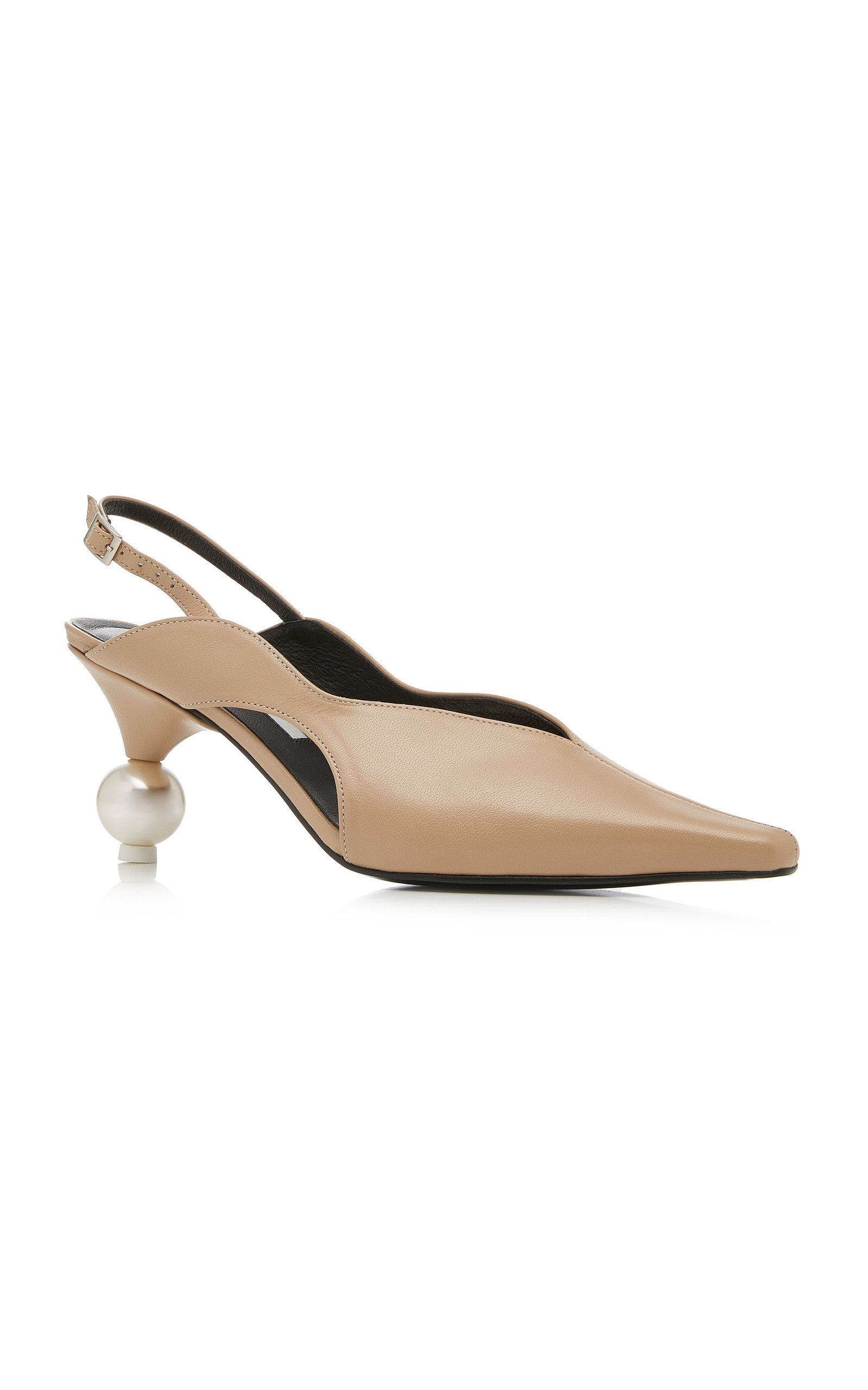 6029a45d747 Doreen Embellished Slingback Pumps by YUUL YIE Now Available on Moda  Operandi