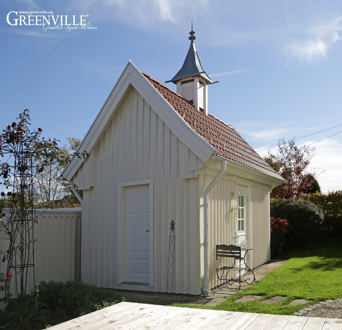 S sses gartenhaus zum verstauen der ger te greenville architektur h user gartenhaus haus - Gartenhaus architektur ...