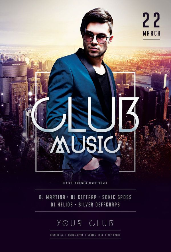 Club Music Flyer | Search, Flyers And Google