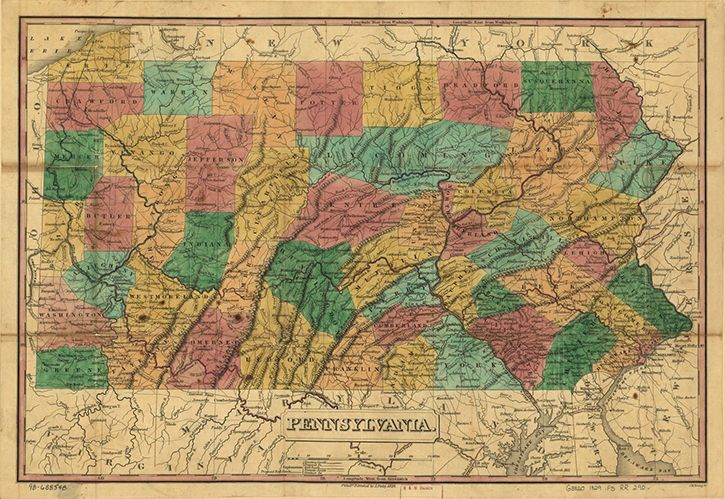 Online Exhibition - Mapping a Growing Nation: From Independence to Statehood | Exhibitions - Library of Congress