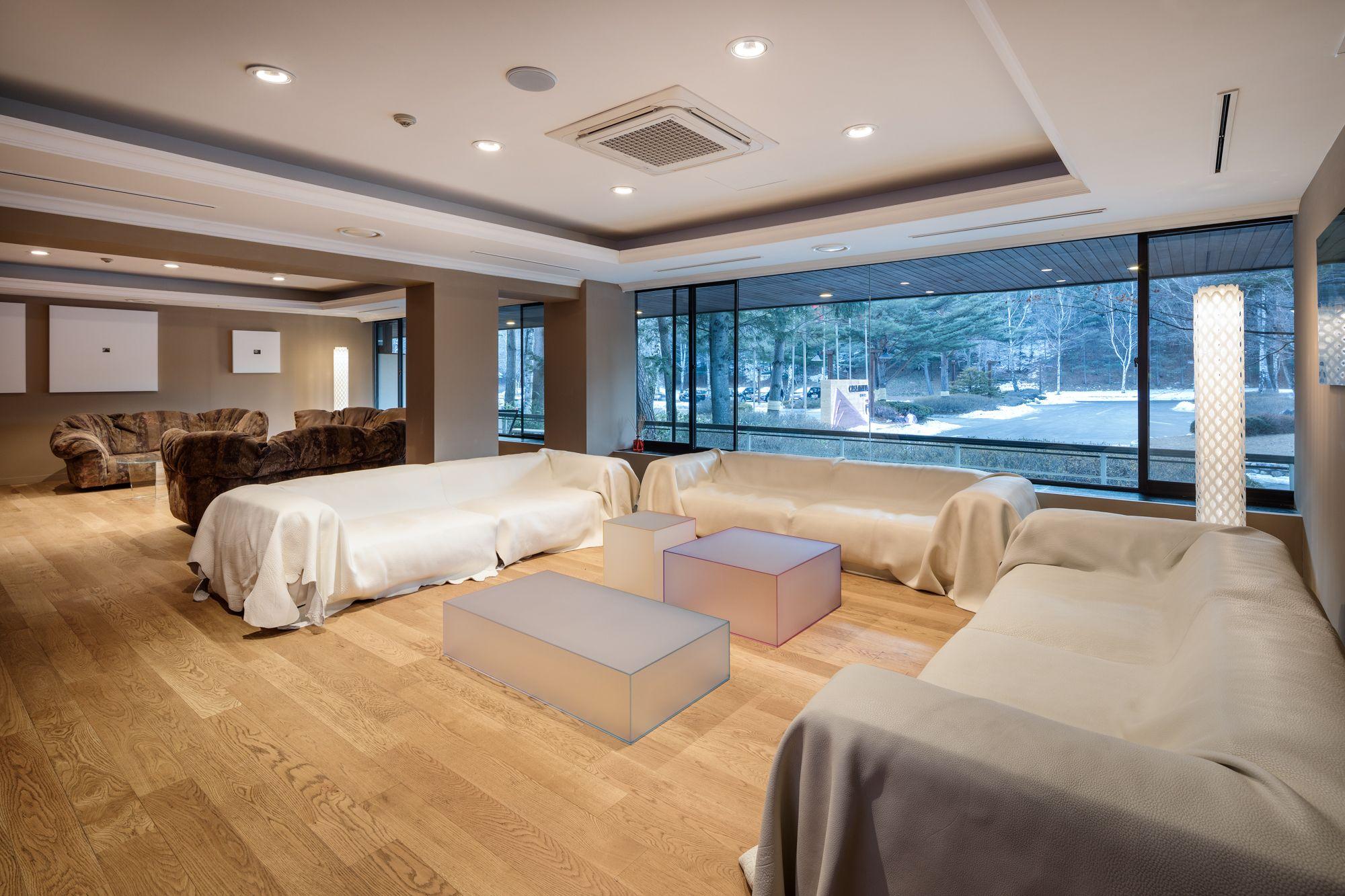 soft coffee tables design nendo at casa italia glas
