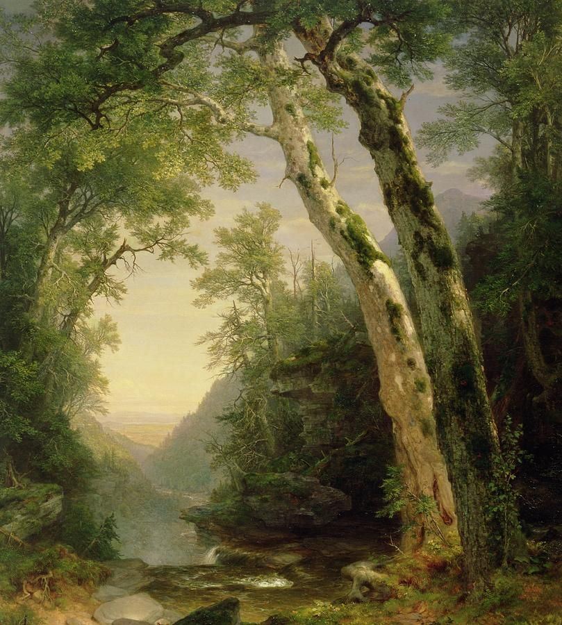 The Catskills Painting  - Asher Brown Durand