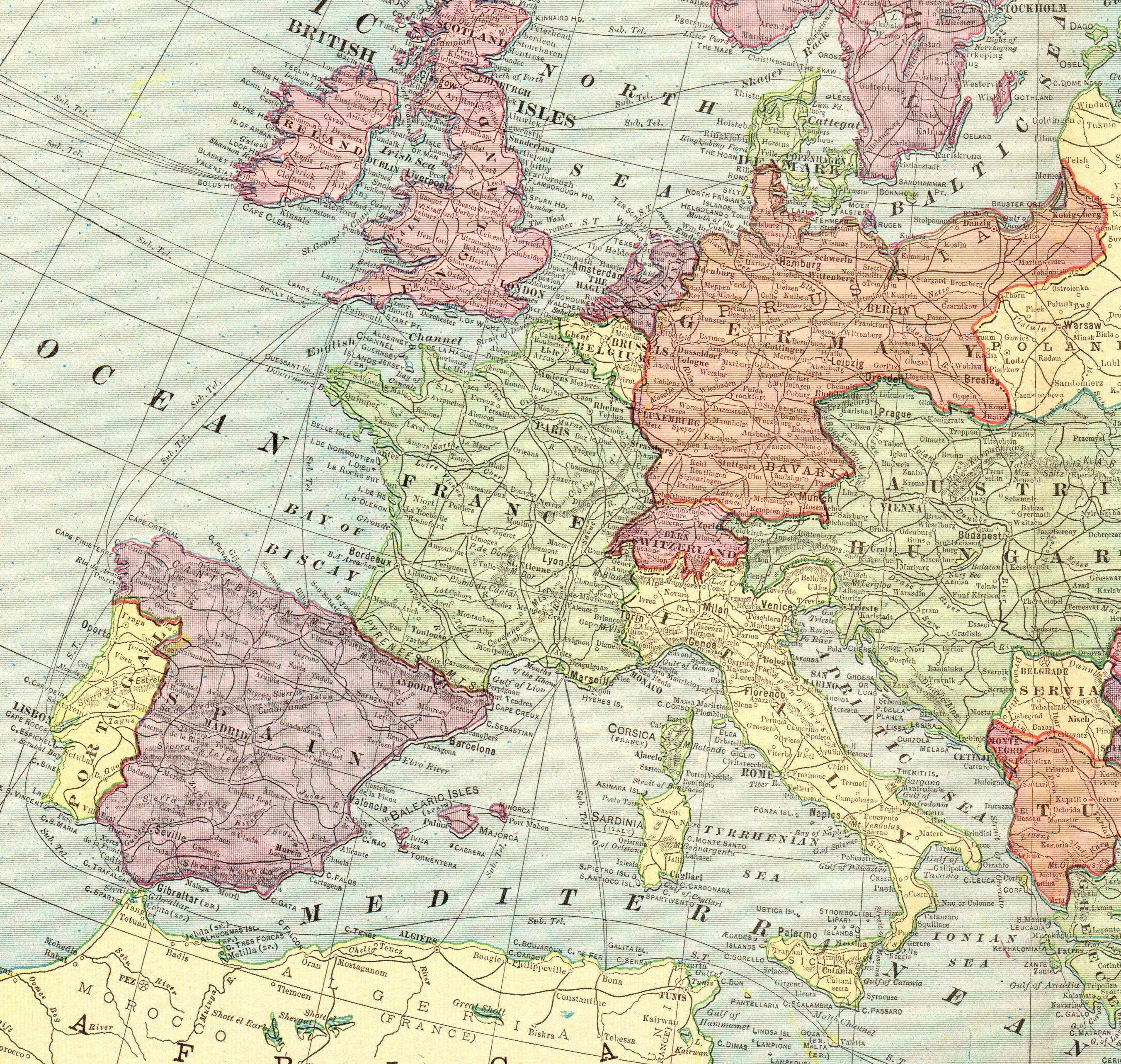 32++ Europe 1900 info