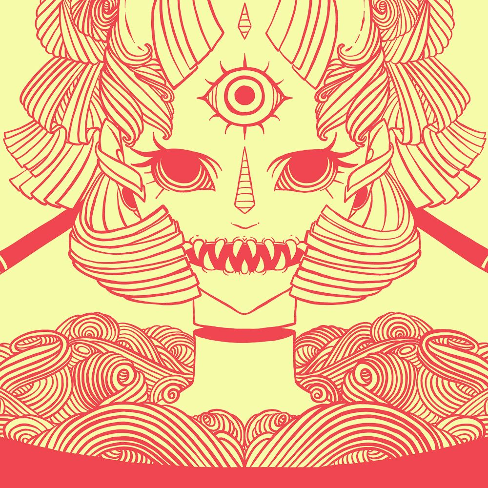 1c4e9e494 Monster girl ramen 🍜Search my art shop for