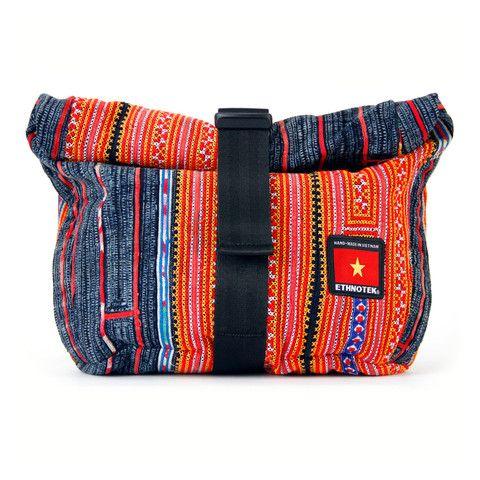 Socially Responsible Laptop Bags by Ethnotek - Direct Trade - Fair Trade - Social Entrepreneurs - Handmade Textiles - Global Artisans - Vietnamese Textiles - Bike Bags - Fanny Pack - Festival Concert Bag - Mini Backpack - Daypack - iPad bag - www.EthnotekBags.com