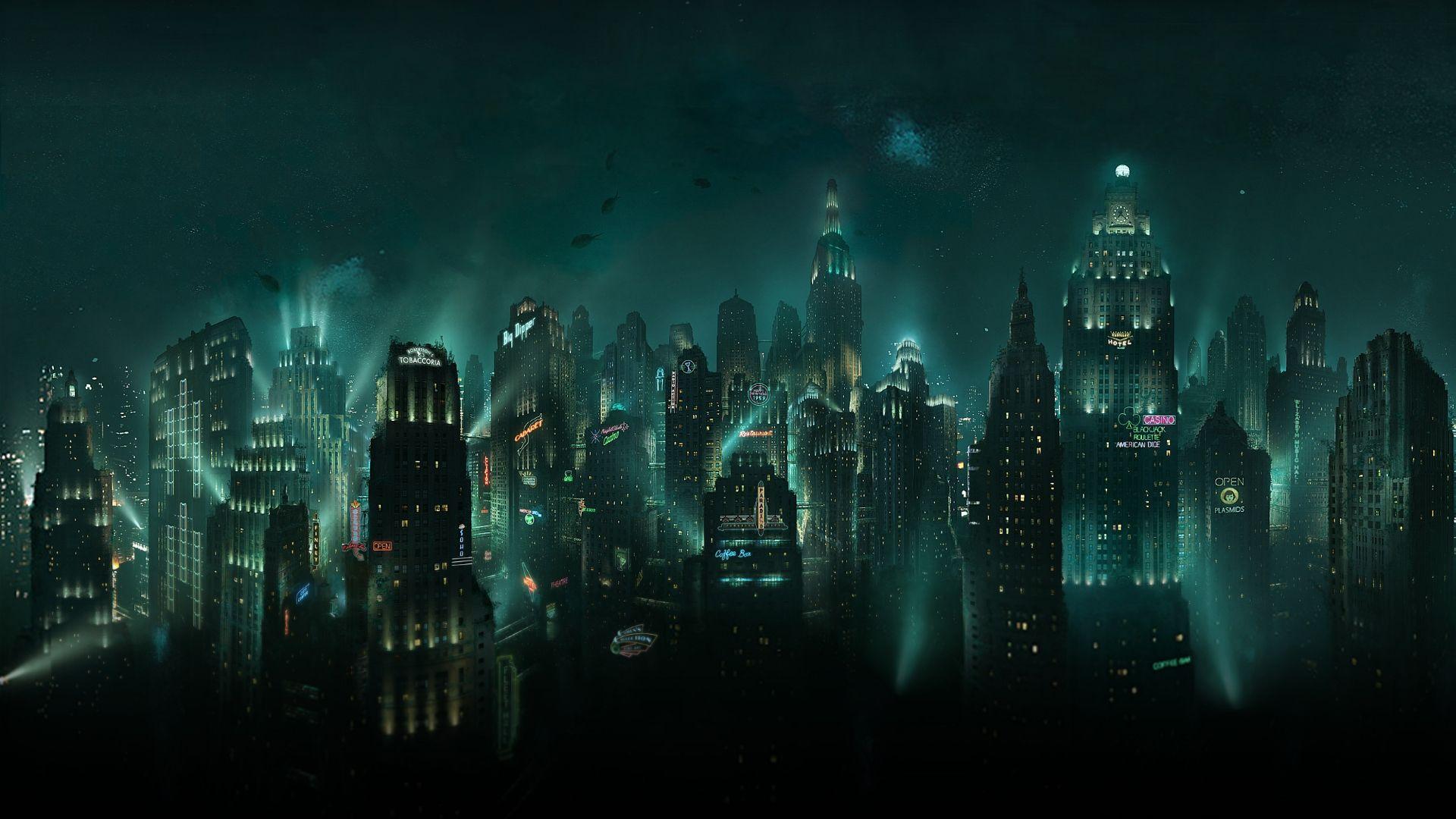 Top Collection Phone And Desktop Wallpaper Hd In 2020 Bioshock Bioshock Rapture Bioshock Art