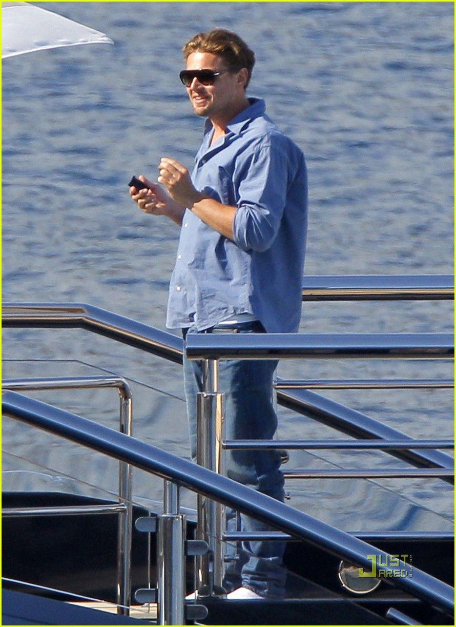 Leonardo Dicaprio Blake Lively Were On A Boat My Favorites