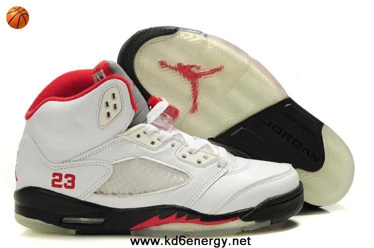 premium selection cdd4f 2e207 Fashion Fire Red Women Air Jordan 5 Retro GS