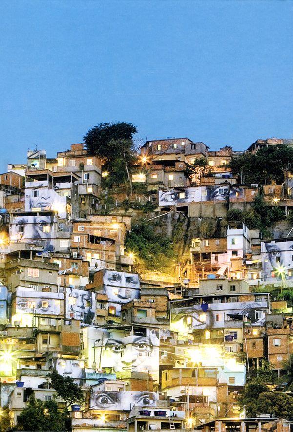 JR | Women Are Heroes/Brazil | Rio de Janeiro, Brazil | 2008-2009