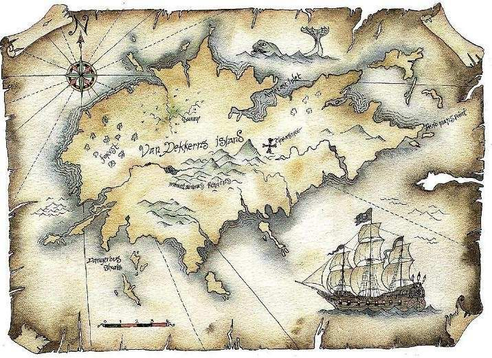 Image result for pirate maps