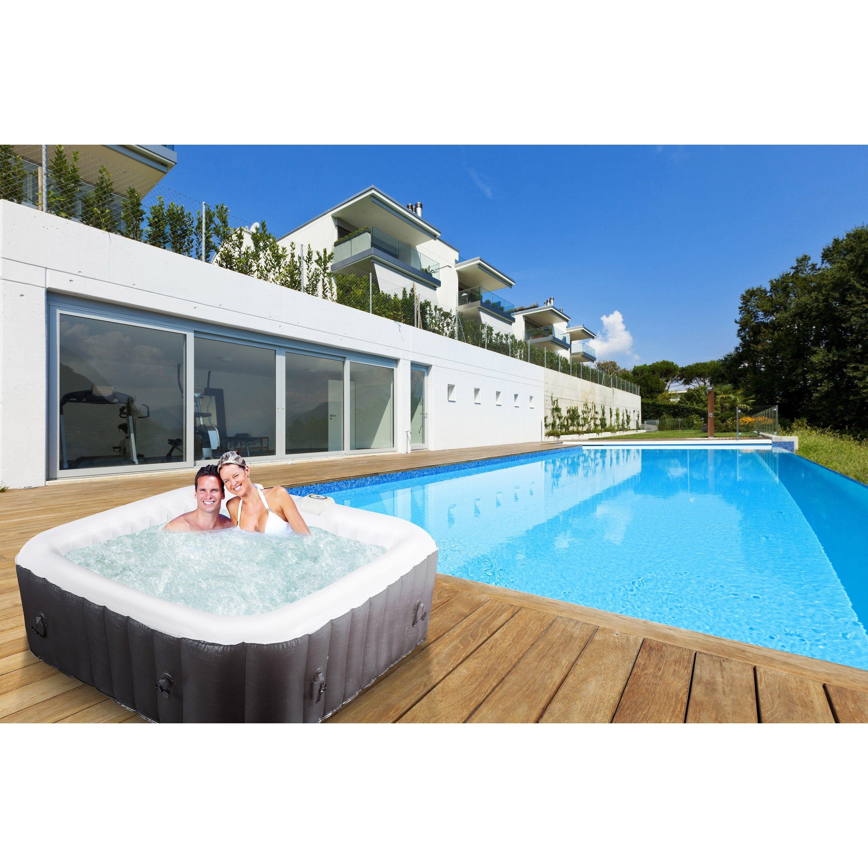 Spa Gonflable Rectangulaire Pour 8 Personnes Ivira Water Clip Spa Gonflable Gonflable Et Spa