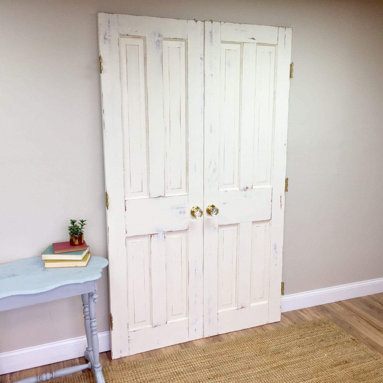 Double Sliding Doors Interior Wood Doors Fixer Upper Decor White Interior Doors & Double Sliding Doors Interior Wood Doors Fixer Upper Decor White ...