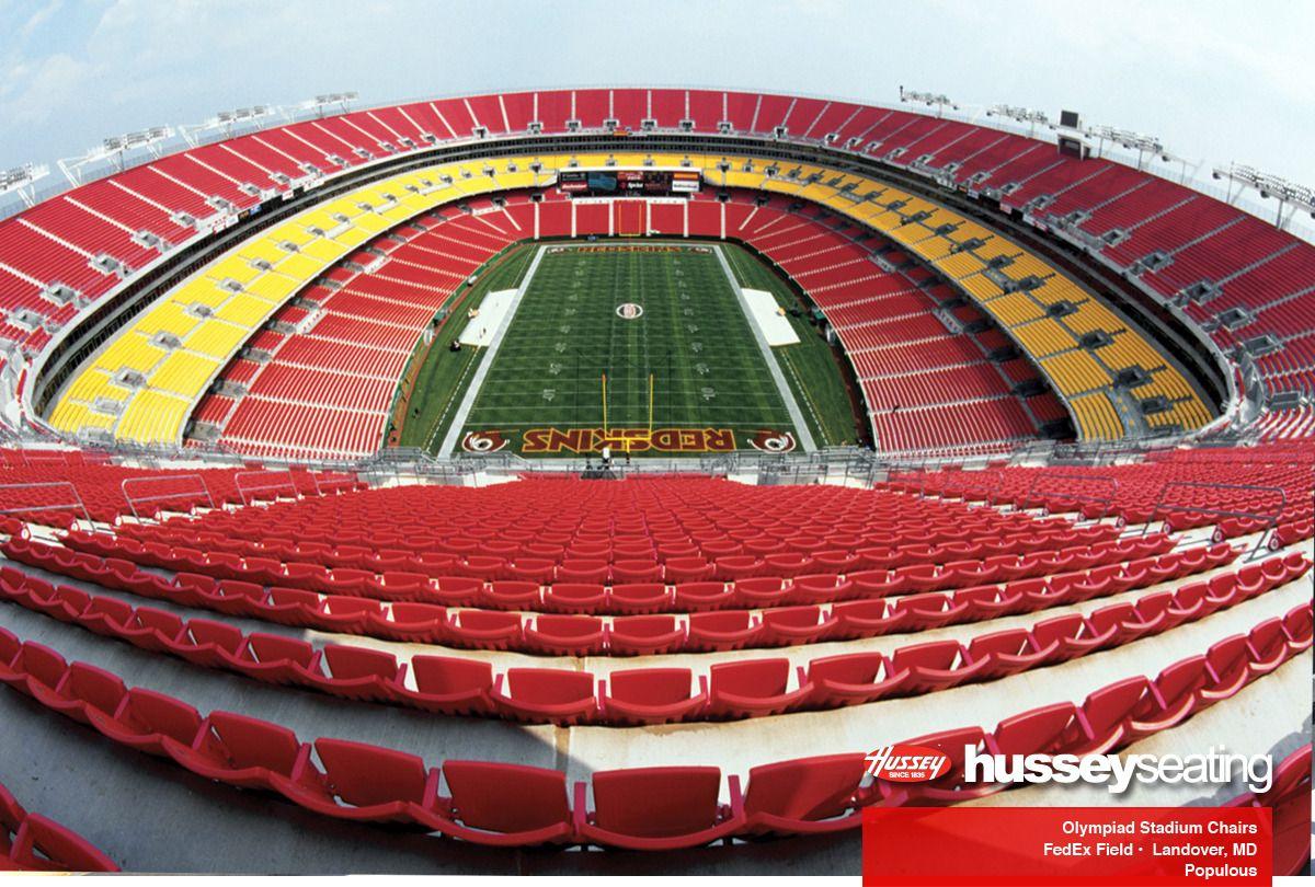 Major Projects Stadium Seating Photos Hussey Seating Fedex Field Stadium Football Stadiums