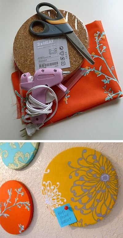 Bulletin Board For O Box Of Happies LOVES DIY Quick And Easy Gift Ideas Including This Fabric