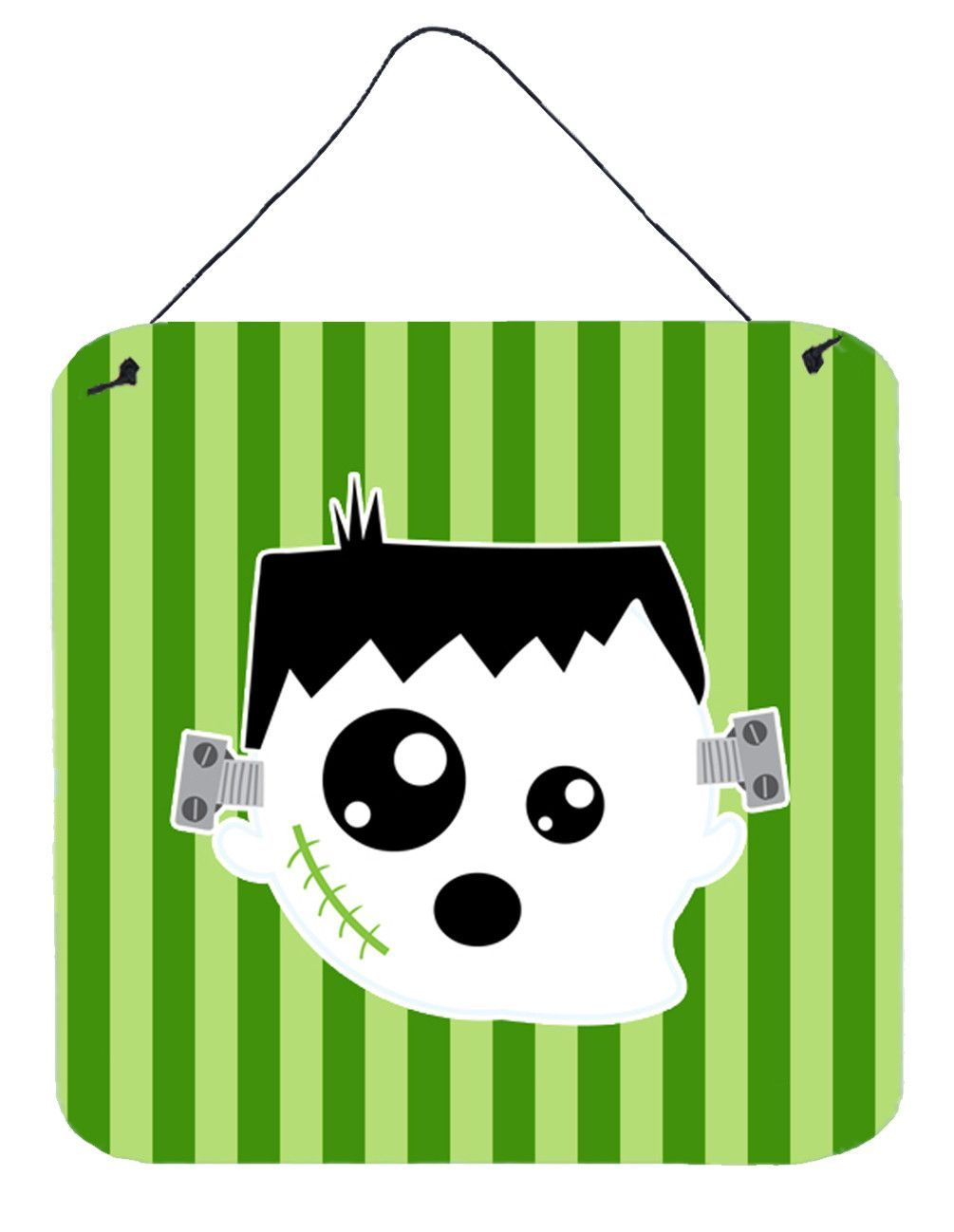 Halloween ghost frankenstein wall or door hanging prints bbds