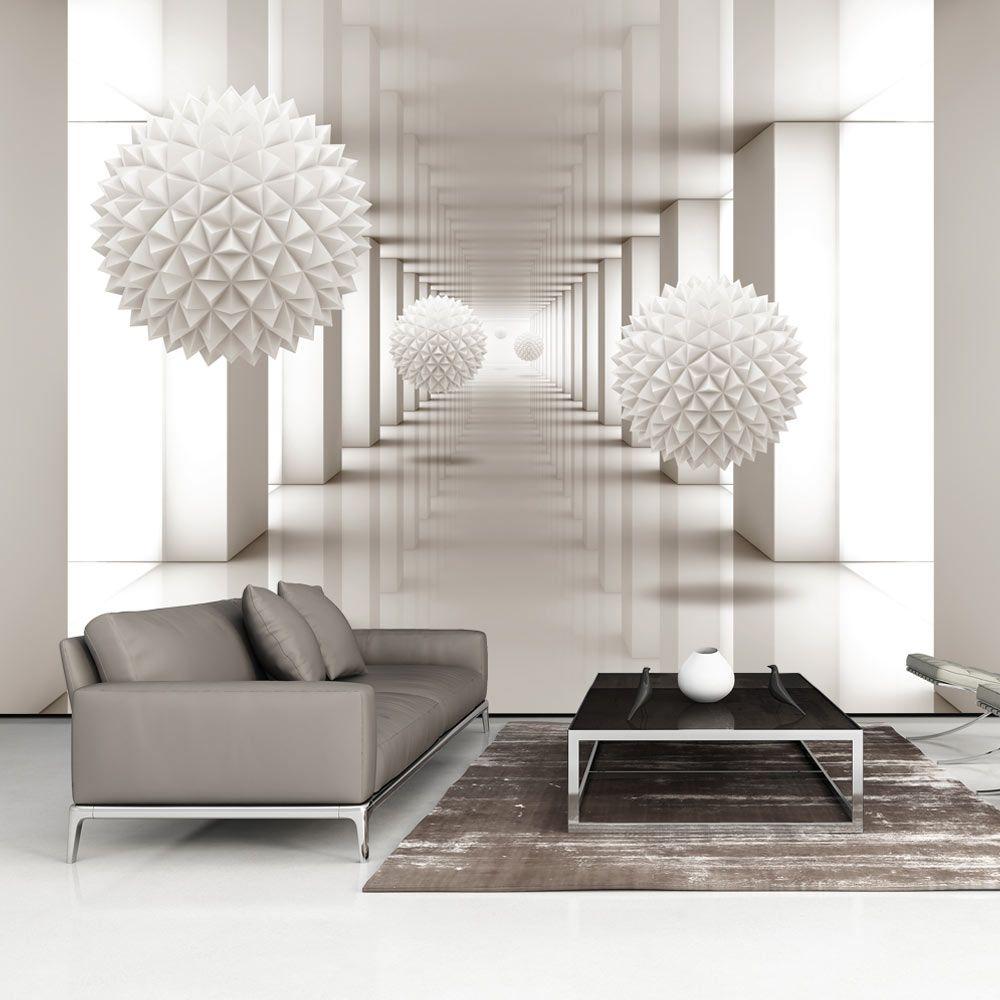 vlies tapete top fototapete wandbilder xxl 400x280 cm abstrakt optisch 3d optik. Black Bedroom Furniture Sets. Home Design Ideas