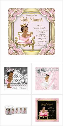 Ethnic Girl Baby Shower Ethnic Baby Girl Shower Invitation Designs