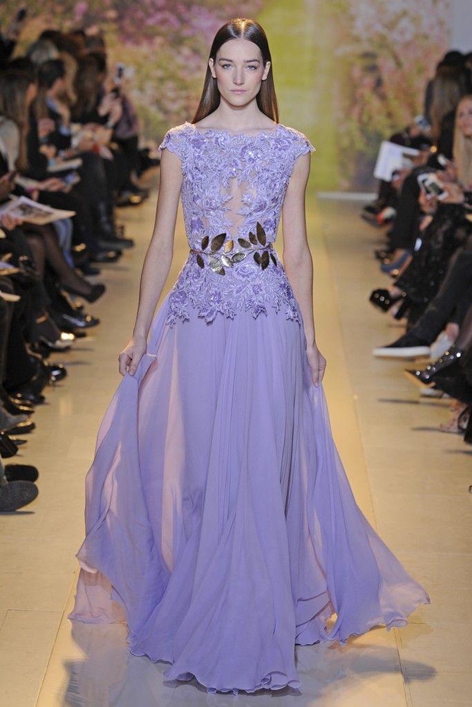 Zuhair Murad Couture Spring 2014   Vestiditos, Vestidos de noche y ...