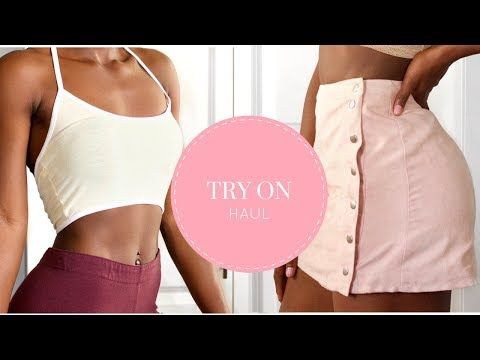SUMMER TRY ON HAUL - YouTube