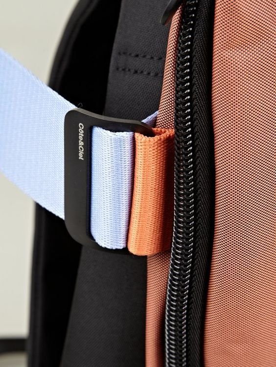 COTE&CIEL Orange California Isar Backpack   oki-ni: