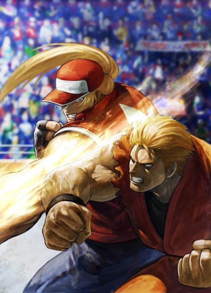 Terry Bogard (Fatal Fury) vs Ryo Sakazaki (Art of Fighting ...