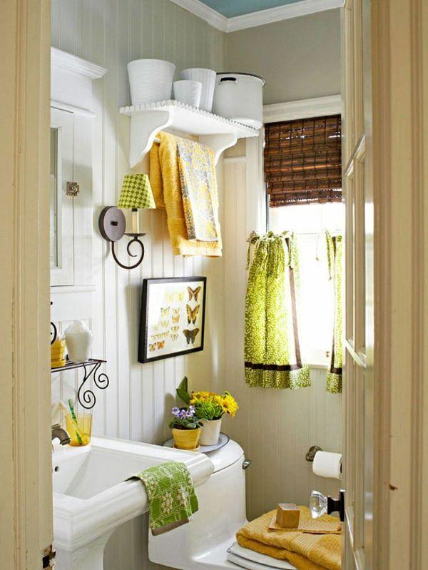 Badezimmer Modern Einrichten Weisses Farbschema Und Deko Elemente